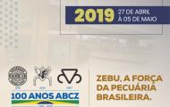 ExpoZebu 2019 é lançada oficialmente em Uberaba