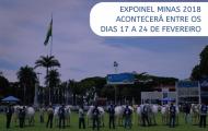 Expoinel Minas 2018 acontecerá entre os dias 17 a 24 de fevereiro